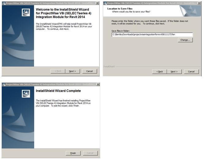 ProjectWise V8i (SS4) Integration Module for Autodesk Revit